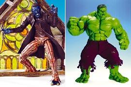 The Hulk, X2: X-Men United