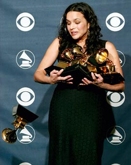 Norah Jones, Grammy Awards 2003