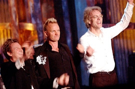 The Police, Rock and Roll Hall of Fame
