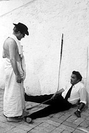 Federico Fellini, Marcello Mastroianni, ...