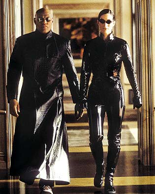 Carrie-Anne Moss, Laurence Fishburne