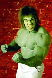 Lou Ferrigno, The Incredible Hulk