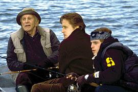 Kirk Douglas, Michael Douglas, ...