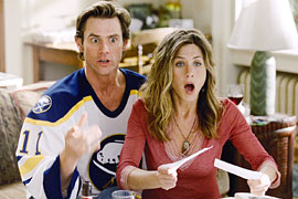 Jim Carrey, Jennifer Aniston, ...