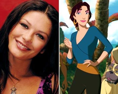 Catherine Zeta-Jones, Sinbad: Legend of the Seven Seas