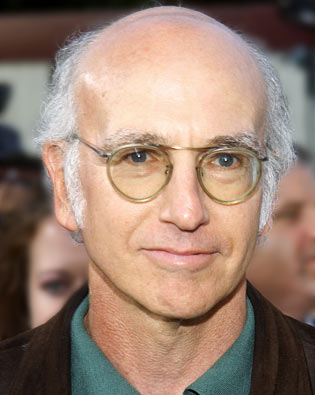 LARRY DAVID, ''CURB YOUR ENTHUSIASM'' As writer and producer of ''Curb'' and ''Seinfeld,'' David has earned 14 Emmy nominations. (He won two trophies in 1993 for his ''Seinfeld'' duties, including penning the notorious ''master of my domain'' episode.) Now he has his first acting nomination, for playing a cranky, spoiled version of... himself.