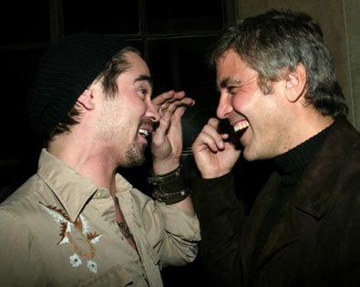 Colin Farrell, George Clooney
