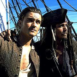 Johnny Depp, Orlando Bloom, ...