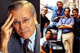Donald Rumsfeld, Queer Eye for the Straight Guy