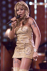 Mary J. Blige, VH1 Divas Live: The One and Only Aretha Franklin