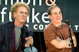 Paul Simon, Art Garfunkel, ...