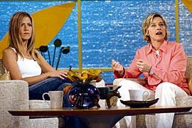 Ellen DeGeneres, Jennifer Aniston, ...