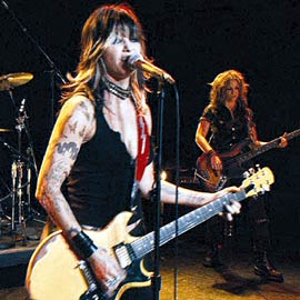 Gina Gershon, Prey for Rock and Roll