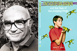 Donald J. Sobol, Encyclopedia Brown and the Case of the Jumping Frogs