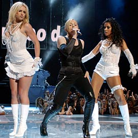 Madonna, Britney Spears, ...
