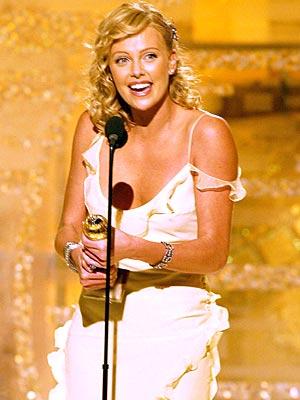 Charlize Theron, Golden Globe Awards 2004