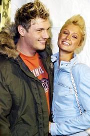 Nick Carter, Paris Hilton, ...