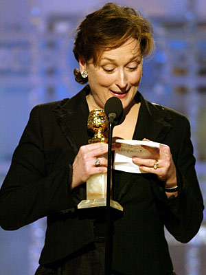 Meryl Streep, Golden Globe Awards 2004