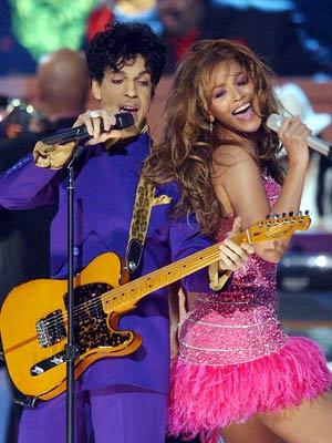 Prince, Beyonce Knowles, ...