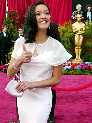Keisha Castle-Hughes, Oscars 2004