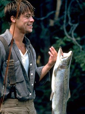 Brad Pitt, A River Runs Through It