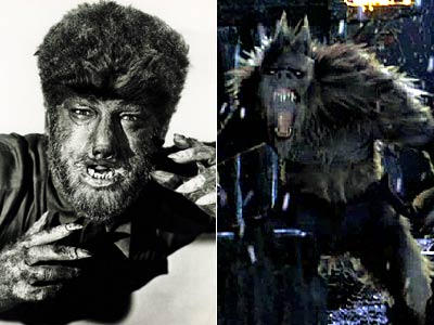 Lon Chaney Jr., The Wolf Man, ...