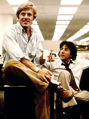 Dustin Hoffman, Robert Redford, ...