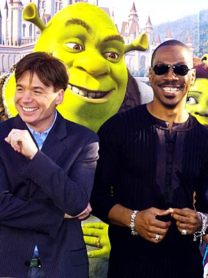 Mike Myers, Eddie Murphy, ...