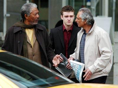 Morgan Freeman, Justin Timberlake, ...
