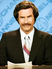 Will Ferrell, Anchorman: The Legend of Ron Burgundy