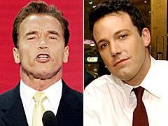 Ben Affleck, Arnold Schwarzenegger
