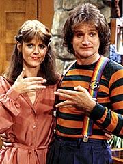 Pam Dawber, Robin Williams, ...