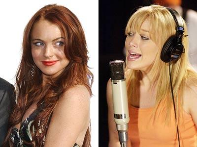 Hilary Duff, Lindsay Lohan