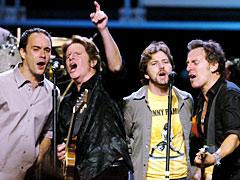 Eddie Vedder, John Fogerty, ...