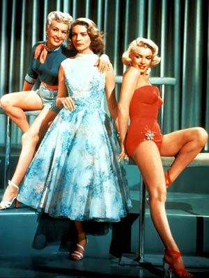 Betty Grable, Lauren Bacall, ...