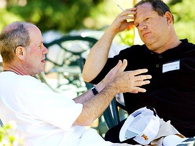 Michael Eisner, Harvey Weinstein