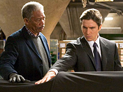 Christian Bale, Morgan Freeman, ...