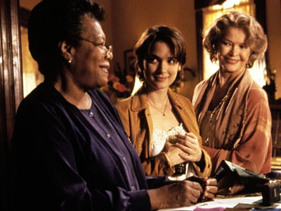Maya Angelou, Winona Ryder, ...