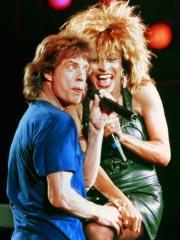 Mick Jagger, Tina Turner