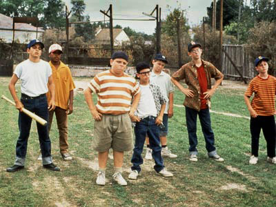 The Sandlot | WHAT IT'S ABOUT New kid on the block Scotty Smalls (Tom Guiry, above, far right) makes friends with the neighborhood boys and learns how to…
