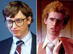 Jon Heder, Bill Gates