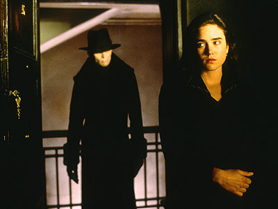Jennifer Connelly, Dark City | Setting: In a not-so-far-off future Imagine the worst Jägermeister hangover on record. Except Jennifer Connelly's there, too. So maybe it's not so bad.