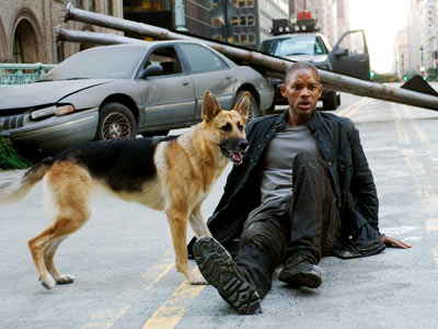 I Am Legend, Will Smith | Setting: 2012 A crazy biophage has decimated the people of New York City (and, we're led to believe, the rest of the country), leaving Dr.…