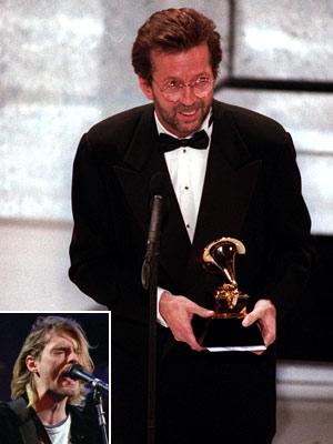 Eric Clapton, Kurt Cobain
