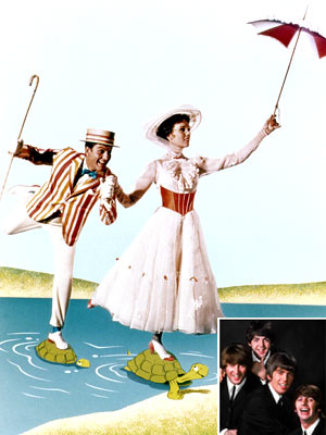 The Beatles, Mary Poppins, ...