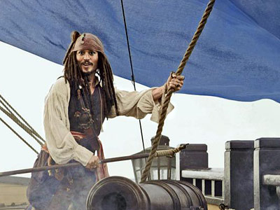 Johnny Depp, Pirates of the Caribbean: At World's End