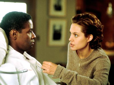 The Bone Collector, Angelina Jolie, ... | The Bone Collector (1999) Cop Amelia Donaghy (Jolie) must serve as the eyes, ears, and legs of her quadriplegic partner, Lincoln Rhyme (Denzel Washington), as…