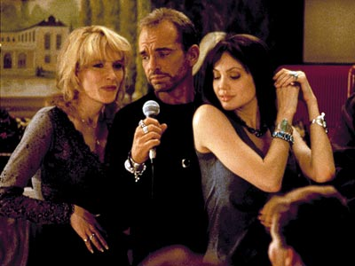 Pushing Tin, Angelina Jolie, ... | Pushing Tin (1999) Before the brief marriage, tattoos, and vials of blood, Billy Bob Thornton and Jolie (shown with Cate Blanchett, left) met as costars,…