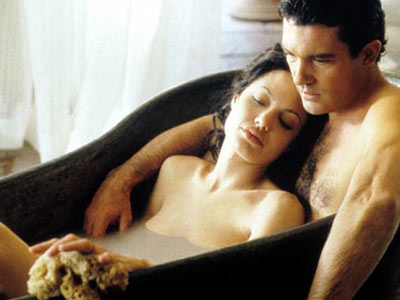 Original Sin, Angelina Jolie, ... | Original Sin (2001) Despite the steamy coupling of Jolie and Antonio Banderas in this sudsy period piece about a wealthy Cuban landowner who marries a…