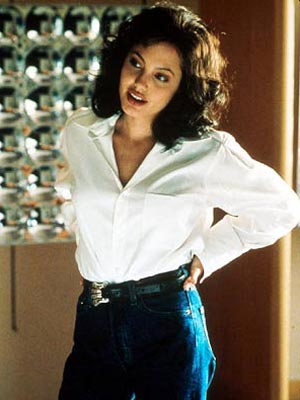 Gia, Angelina Jolie | Gia (1998) Starring as self-destructive '80s supermodel Gia Carangi in the HBO film, Jolie won her second straight Golden Globe for a TV movie (the…